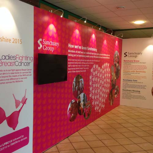 Exhibition stand walls
